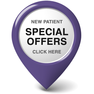 New Patient Special Offer Purple Drop
